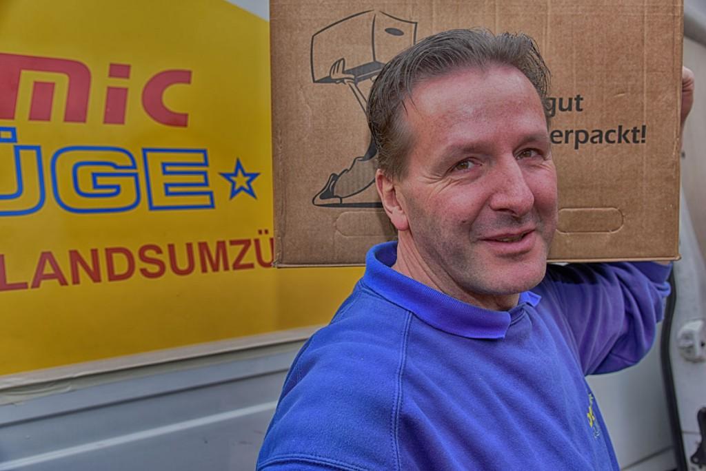 Jens Müller - Chef von Dynamicumzüge