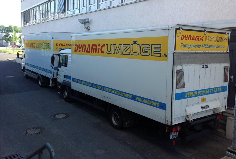 Dynamic Umzüge Fuhrpark - LKW