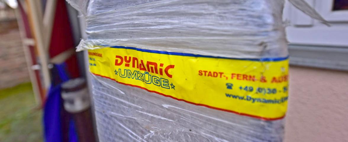 Einlagerung von Umzugsgut durch Dynamic Umzüge
